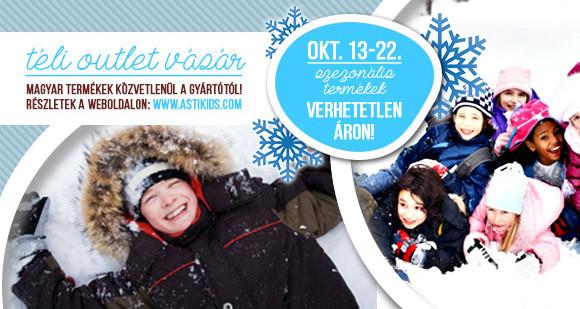 Asti téli outlet vásár okt. 13-22