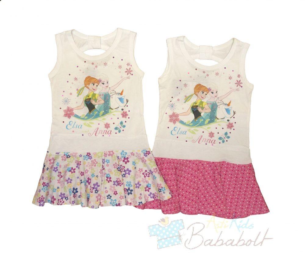 cb9455f797 Disney Frozen, Jégvarázs gyerek nyári ruha (méret:104-134) - [node ...