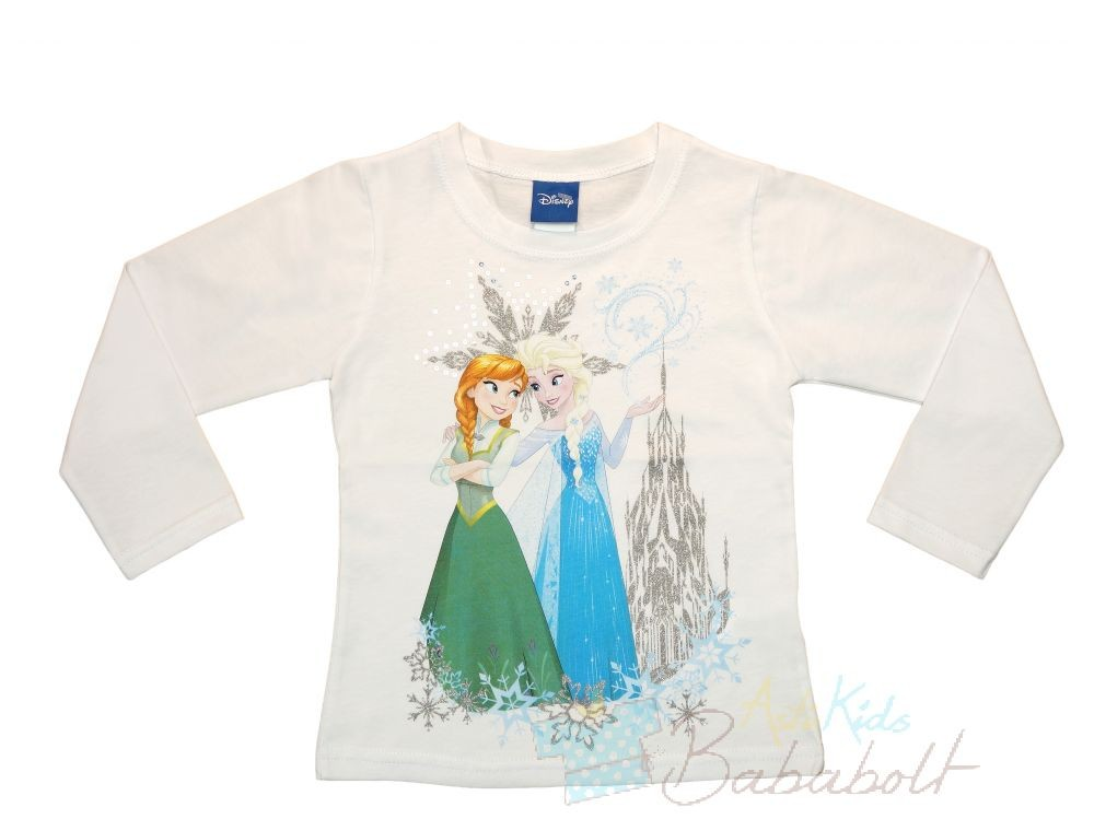 28616bc7a3 Disney Jégvarázs-Frozen gyerek hosszú ujjú póló (méret: 98-140 ...