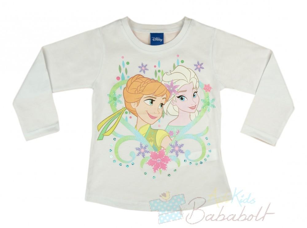 acd8900cbd Disney Jégvarázs hosszú ujjú lányka póló(méret: 98-140) - Póló ...