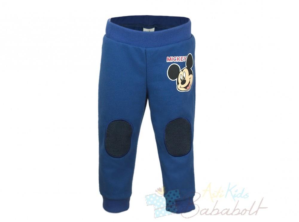 b86a48b358 Disney Mickey vékony pamut baba/gyerek szabadidő nadrág (méret: 68-116)