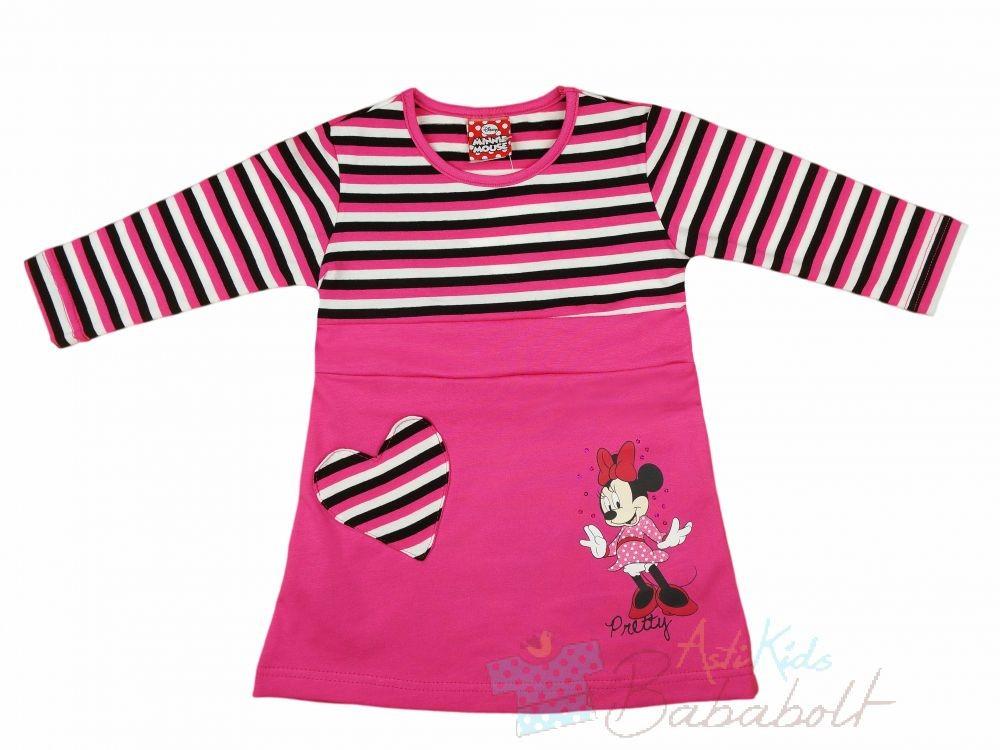 Disney Minnie baba gyerek hosszú ujjú ruha (méret  80-116) - Ruha ... 8d76a07a9e
