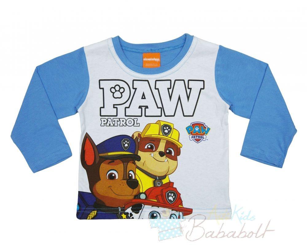 Paw Patrol - Mancs őrjárat baba gyerek hosszú ujjú póló (méret  80-122) 6afd58c1cd
