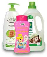 Ökológia babaápolási termékek és tisztítószerek