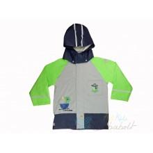 3235b3adff Sterntaler Vízálló Gyermek esőkabát levehető kapucnival - Szürke